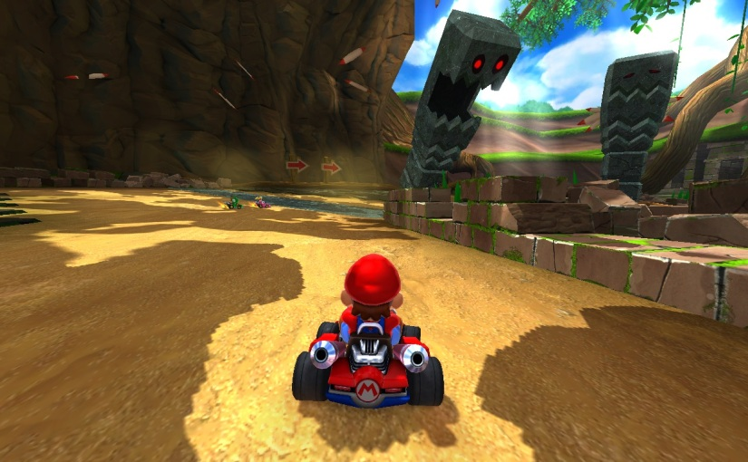 Mario Kart Pixel Hunted